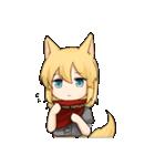 獣耳キャラクタースタンプ(個別スタンプ:04)