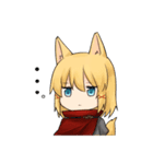 獣耳キャラクタースタンプ(個別スタンプ:05)