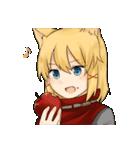 獣耳キャラクタースタンプ(個別スタンプ:08)