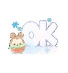 ウフフィ(冬の日)(個別スタンプ:03)