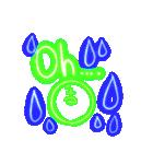 キラキラネオン文字スタンプ(個別スタンプ:33)