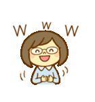 ほのぼのメガネちゃん2(個別スタンプ:25)