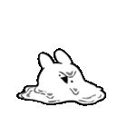 すこぶる動くクレイジーウサギ2(個別スタンプ:03)