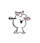 すこぶる動くクレイジーウサギ2(個別スタンプ:10)