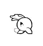 すこぶる動くクレイジーウサギ2(個別スタンプ:19)