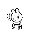 すこぶる動くクレイジーウサギ2(個別スタンプ:20)