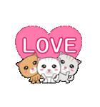 動く!3匹の子ネコ!(個別スタンプ:02)