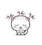 動く!3匹の子ネコ!(個別スタンプ:03)