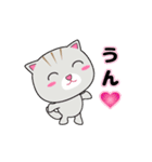 動く!3匹の子ネコ!(個別スタンプ:06)