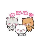 動く!3匹の子ネコ!(個別スタンプ:10)