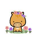 いのししうりぼう  うりりん  春スタンプ(個別スタンプ:1)