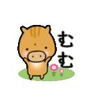 いのししうりぼう  うりりん  春スタンプ(個別スタンプ:6)