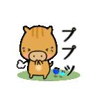 いのししうりぼう  うりりん  春スタンプ(個別スタンプ:8)