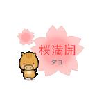 いのししうりぼう  うりりん  春スタンプ(個別スタンプ:26)