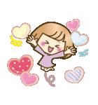 おかっぱ女子【やさしい日常】(個別スタンプ:19)