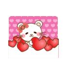 ぱんにゃ動く♥ラブラブスタンプ2【彼女用(個別スタンプ:13)