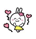 恋する♥️花うさちゃん3 : 落書きスタンプ(個別スタンプ:10)