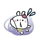 恋する♥️花うさちゃん3 : 落書きスタンプ(個別スタンプ:14)