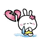 恋する♥️花うさちゃん3 : 落書きスタンプ(個別スタンプ:16)