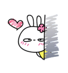 恋する♥️花うさちゃん3 : 落書きスタンプ(個別スタンプ:23)