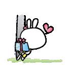恋する♥️花うさちゃん3 : 落書きスタンプ(個別スタンプ:24)