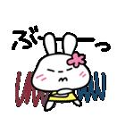 恋する♥️花うさちゃん3 : 落書きスタンプ(個別スタンプ:32)