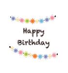 誕生日とお祝いスタンプ(個別スタンプ:05)