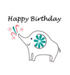 誕生日とお祝いスタンプ(個別スタンプ:09)