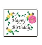 誕生日とお祝いスタンプ(個別スタンプ:11)