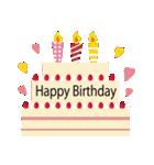 誕生日とお祝いスタンプ(個別スタンプ:12)