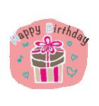 誕生日とお祝いスタンプ(個別スタンプ:25)