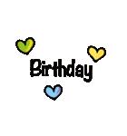 誕生日とお祝いスタンプ(個別スタンプ:28)
