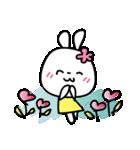 恋する♥️花うさちゃん3 [中国語繁体字](個別スタンプ:06)