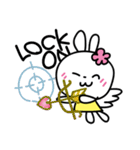 恋する♥️花うさちゃん3 [中国語繁体字](個別スタンプ:12)