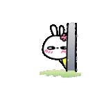 恋する♥️花うさちゃん3 [中国語繁体字](個別スタンプ:21)