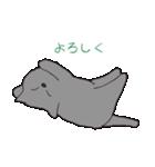 もっちりグレー猫の使いやすいスタンプ(個別スタンプ:14)