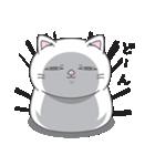 ネコのましゅまろ 白ver.(個別スタンプ:04)