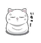 ネコのましゅまろ 白ver.(個別スタンプ:20)