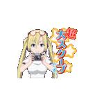 アニメ「トリニティセブン」(個別スタンプ:22)
