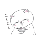 ネコのましゅまろ2 白ver.(個別スタンプ:07)