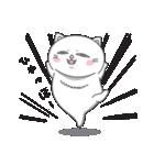 ネコのましゅまろ2 白ver.(個別スタンプ:27)