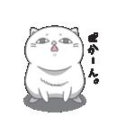 ネコのましゅまろ2 白ver.(個別スタンプ:28)