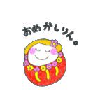 だるまりん スタンプ NO.3(個別スタンプ:09)