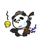 二胡パンダ(日本語版)(個別スタンプ:27)