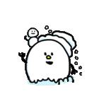 秋田弁 雪のかたまり3(個別スタンプ:03)