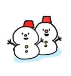 秋田弁 雪のかたまり3(個別スタンプ:05)