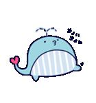 クジラのラブリー(個別スタンプ:09)