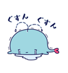 クジラのラブリー(個別スタンプ:14)
