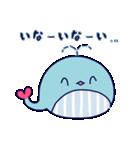 クジラのラブリー(個別スタンプ:18)