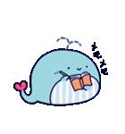 クジラのラブリー(個別スタンプ:22)